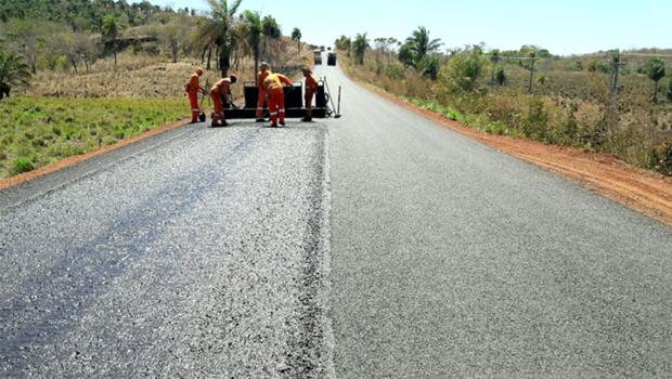 Rodovia que liga Tocantinópolis a Aguiarnópolis é reconstruída