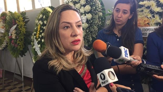 """""""Legado de Paulo Garcia será reconhecido pela população"""", diz Adriana Accorsi"""