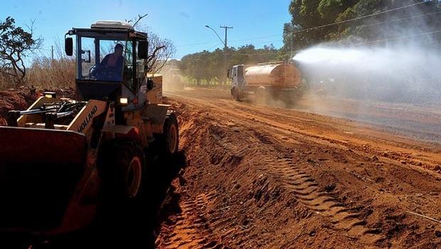Bacia do Descoberto tem estradas rurais recuperadas