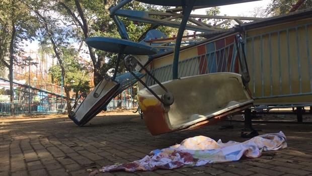 Vítima de pane em brinquedo no Mutirama, garota de 9 anos deixa UTI