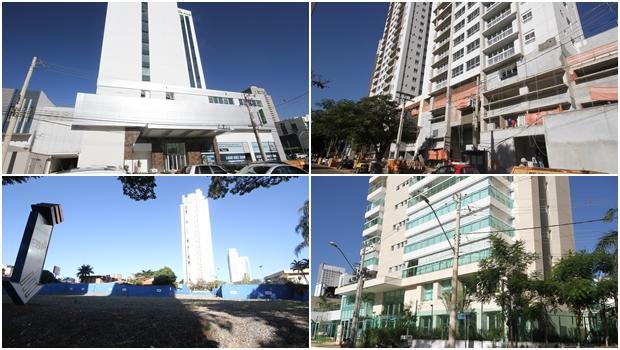 Em Goiânia, espaços da mostra Casa Cor viram prédios de grandes construtoras