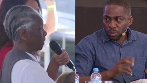 Lázaro Ramos chora com fala de professora sobre racismo. Veja vídeo