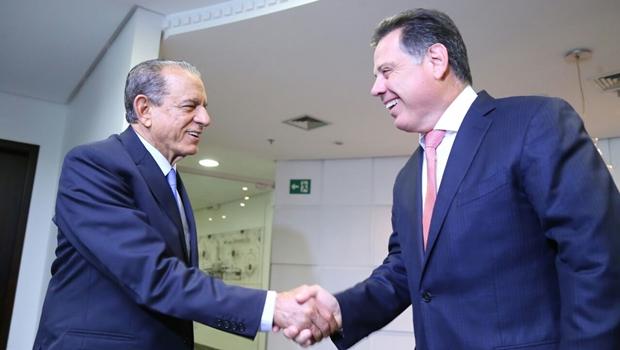Em encontro com Marconi, Iris pede para participar do Goiás na Frente