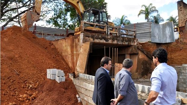 Prefeitura de Anápolis deve entregar obra da Ponte da Matinha em 15 dias