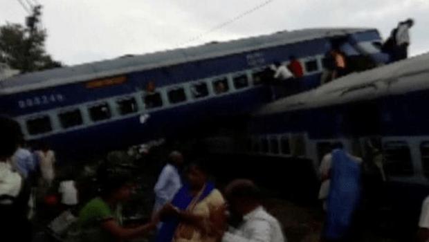 Descarrilamento de trem deixa 23 mortos e 40 feridos na Índia