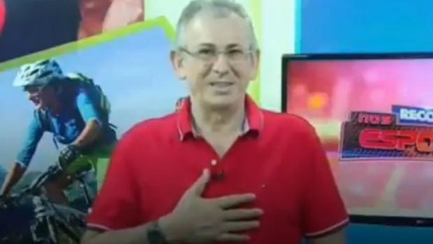 Jornalista da TV Record desmaia durante programa. Veja vídeo