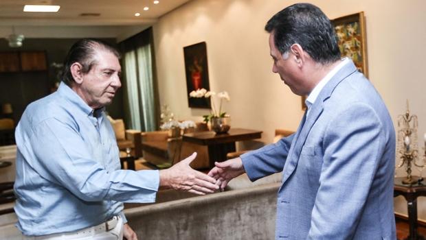 Marconi recebe João de Deus no Palácio das Esmeraldas