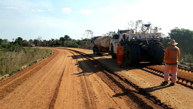 Começa reconstrução de rodovia que liga BR-230 a Araguatins