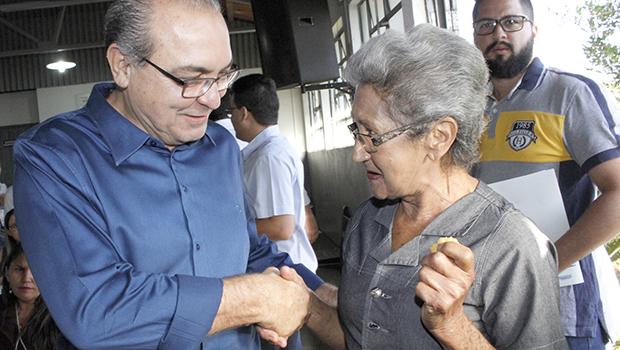 """""""Nosso trabalho social tem promovido alegria e motivação nas pessoas de Trindade"""", diz Jânio"""