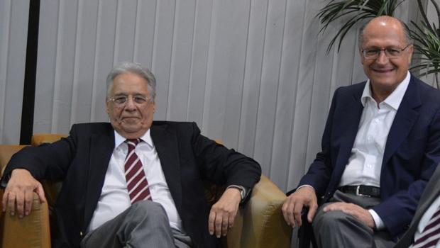 FHC aposta que PSDB bancará Geraldo Alckmin para presidente