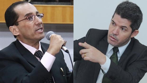 Kajuru e o delegado Waldir Soares fumam o cachimbo da paz e desistem da guerra