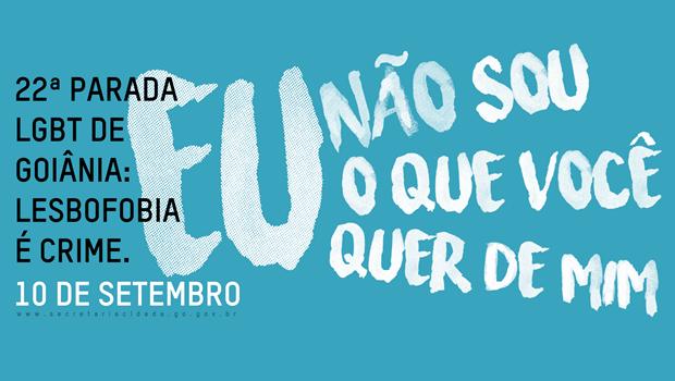 Lesbofobia é tema da 22ª Parada LGBT de Goiânia