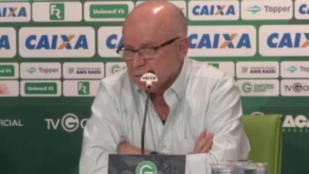 """Ao renunciar, Sérgio Rassi fala em """"inadequação e dor"""" enquanto presidente do Goiás"""