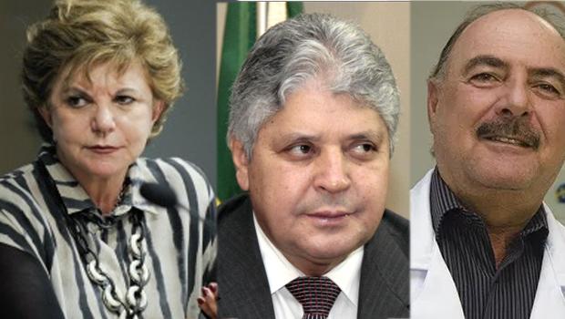 Lúcia Vânia, Alcides Rodrigues ou Zacharias Calil: um deles deve ser vice de Ronaldo Caiado
