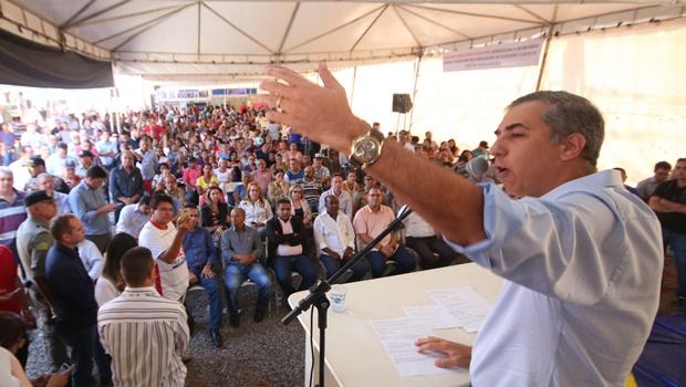 Em Aparecida de Goiânia, Zé Eliton defende política voltada para o bem-estar dos cidadãos