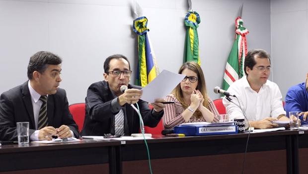 Relatório da CEI da Herança é aprovado com denúncia a quatro contratos da gestão Iris