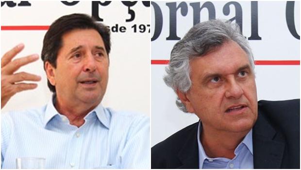 Maguito Vilela barra apoio de parte do PMDB a Caiado e pode retirar o senador da disputa