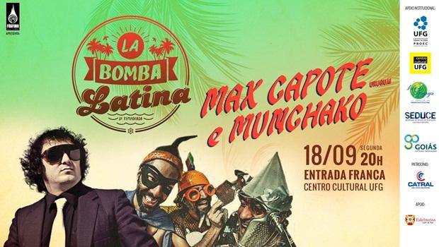 Max Capote e Muntchako fazem abertura do 16º Vaca Amarela