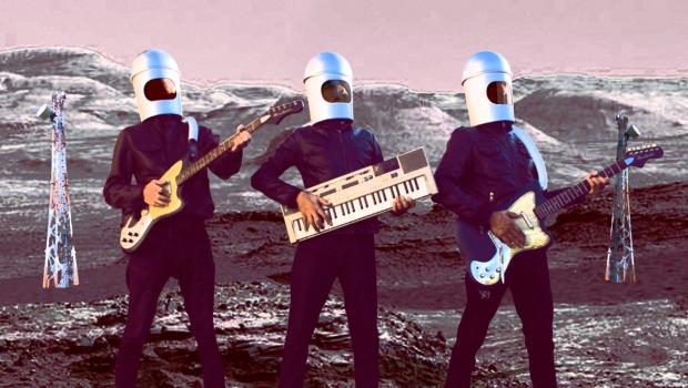 Wi-Fi Kills e Thee Dirty Rats lançam split com cara de ficção científica na festa Mandinga Night!