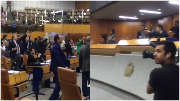 Andrey Azeredo manobra, revolta vereadores e Iris sofre derrota na Câmara