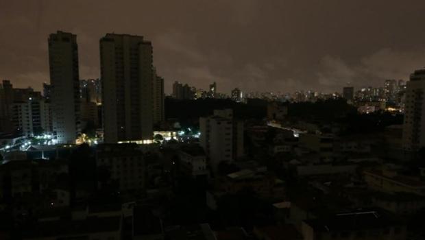 Chuva causa blecaute em diversos pontos de Goiânia