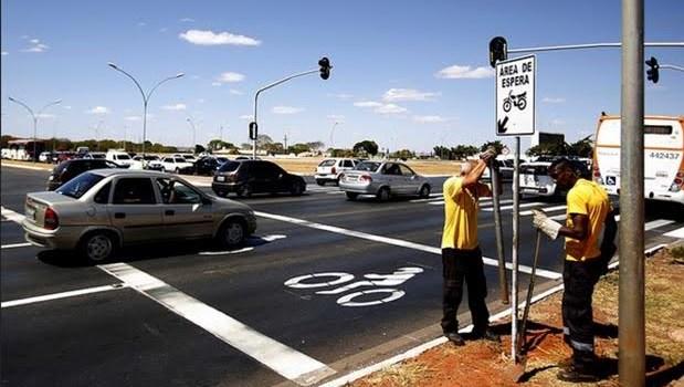 Na semana nacional do trânsito, Detran-DF inova na sinalização