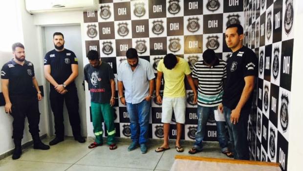 Polícia Civil prende quatro suspeitos de homicídios na operação Xadrez Merecido