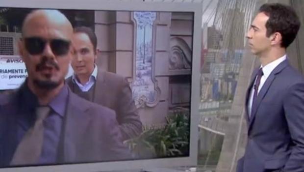 """Homem invade link da Globo e chama emissora de """"lixo"""". Veja vídeo"""
