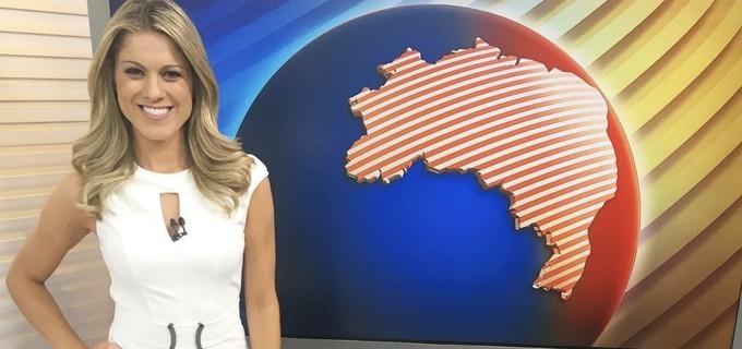 """A substituta de Maju como """"moça do tempo"""" é a jornalista Jacqueline Brazil"""