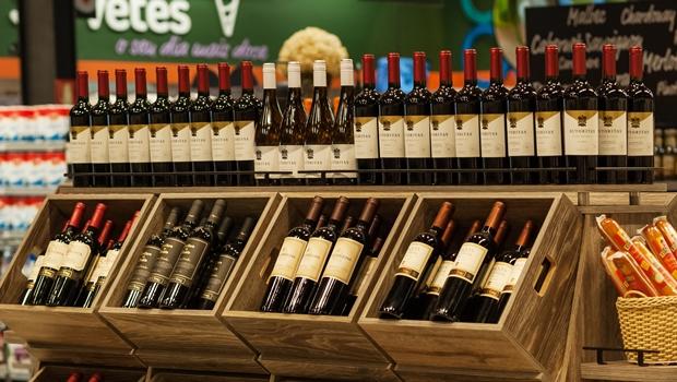 Bretas faz promoção de vinhos e espumantes pela metade do preço