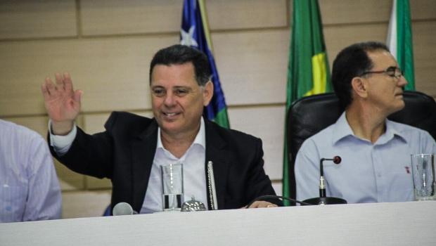 Em Rio Verde, Marconi e prefeito comemoram redução nos índices de violência