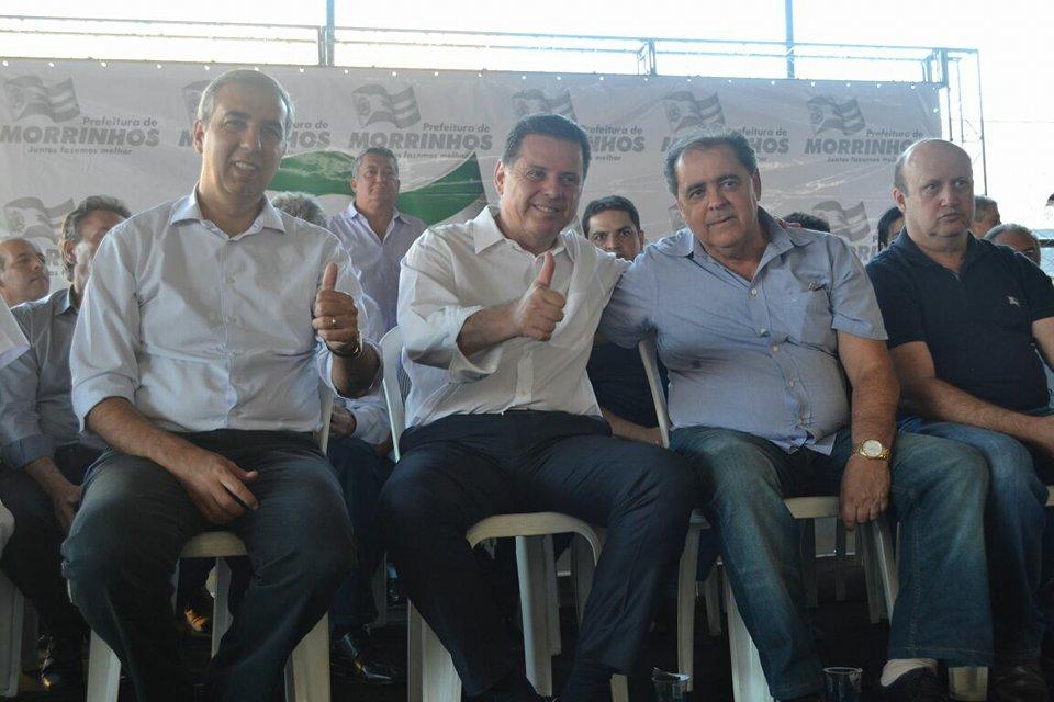 Marconi Perillo libera recursos para o Credeq e para a construção de UTI em Morrinhos