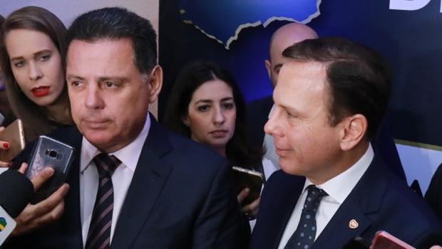 """Doria sobre disputa pelo comando do PSDB: """"Meu lado chama-se Marconi Perillo"""""""