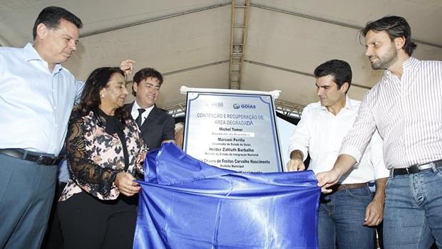 Recursos do Governo Federal transformam cratera em Parque das Nascentes em Goiás