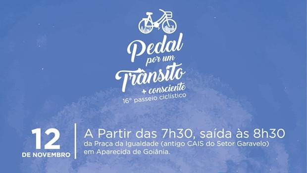 """Record TV Goiás lança 16ª edição do """"Pedal por um Trânsito mais Consciente"""""""