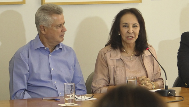Maria de Lourdes Abadia pode ser vice de Rollemberg em 2018
