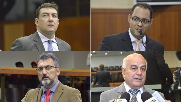 Alto e baixo clero da Assembleia Legislativa de Goiás