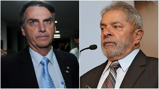 Em SP, Lula e Bolsonaro aparecem empatados no primeiro turno