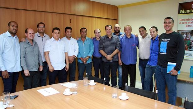 Vereadores de Planaltina de Goiás estão em festa