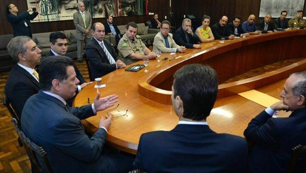 Marconi garante apuração isenta de caso envolvendo vereadores e policiais militares