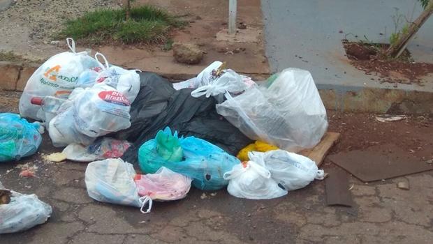 Moradores reclamam do descaso da coleta de lixo na região Norte de Goiânia