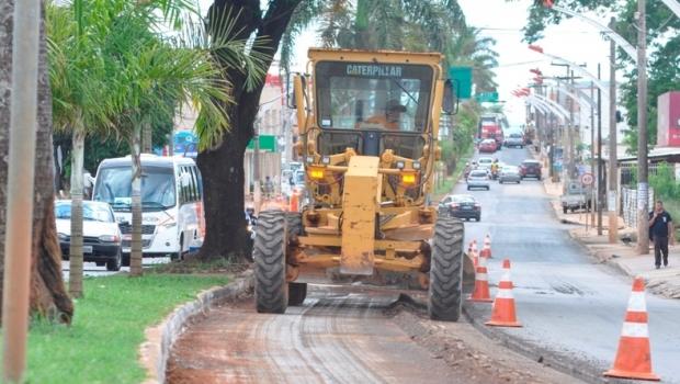 Obras da Avenida JK devem ser concluídas ainda esta semana