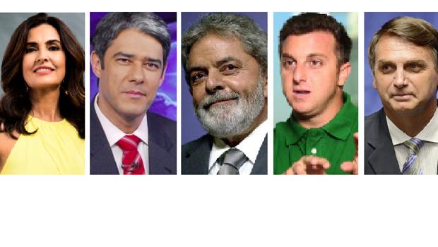 O que Fátima Bernardes e William Bonner têm a dizer a Luciano Huck e Jair Bolsonaro?