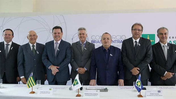 Governador Pedro Taques é o novo presidente do Fórum Brasil Central