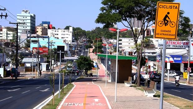 Ciclovia: projeto do ex-prefeito Paulo Garcia parou na gestão Iris | Foto: Fernando Leite / Jornal Opção