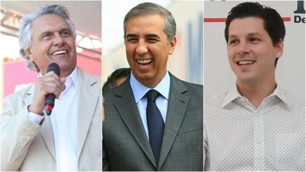 Serpes: Caiado tem 41,9%, José Eliton 10,6% e Daniel 10,1% das intenções de voto