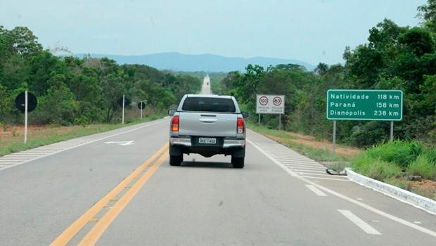 Governador entrega restauração de rodovia no sudeste do Tocantins