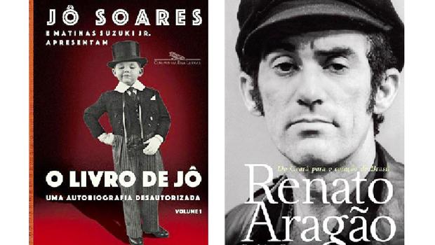 Livros resgatam história dos humoristas Jô Soares e Renato Aragão