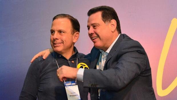 Marconi Perillo e João Doria são vistos como plano B para substituir Alckmin