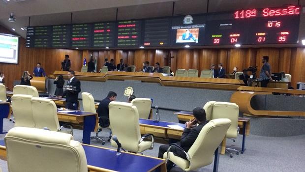 Vereadores aprovam Lei Orçamentária de Goiânia que prevê emendas impositivas